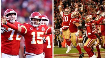 Kansas City Chiefs e x disputam o Super Bowl LIV - GettyImages
