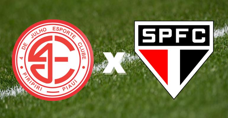 Sportbuzz · 4 de Julho x São Paulo: saiba onde assistir e prováveis escalações