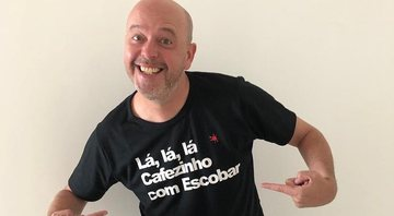 Alex Escobar estará no comando do carnaval - Instagram