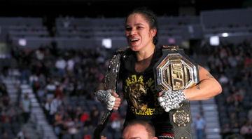 Amanda Nunes tenta manter o cinturão do UFC - GettyImages