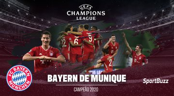 Bayern de Munique é campeão da Champions League 2020 - GettyImages