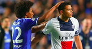 Willian e Thiago SIlva - GettyImages