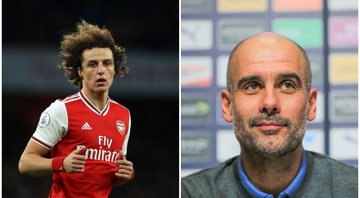 Guardiola elogiou David Luiz - GettyImages