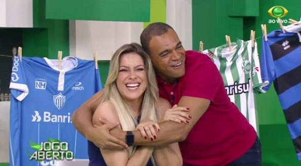 Denilson e Renata Fan