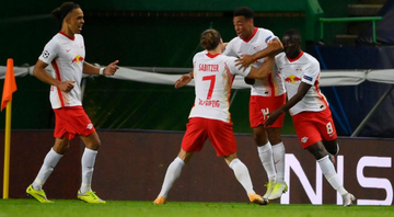Jogadores do Red Bull Leipzig - GettyImages