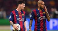 Dani Alves revela papo com Messi e detona gestão do Barcelona - GettyImages