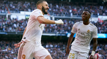 Vinicius Jr sai do banco e ajuda na vitória do Real Madrid - GettyImages