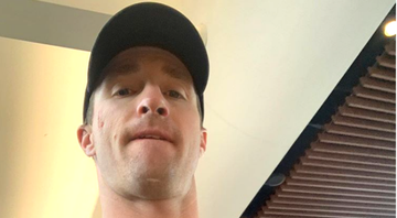 Drew Brees critica protestos durante execução do hino nacional e LeBron James ironiza - Instagram