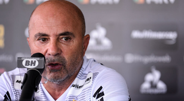 Sampaoli segue trabalhando no Atlético-MG - GettyImages
