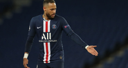 Neymar em ação com a camisa do Paris Saint-Germain - GettyImages