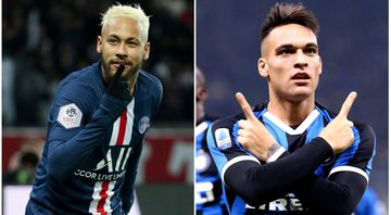 Barcelona se interessa por Neymar Jr e Lautaro Martínez - Getty Images