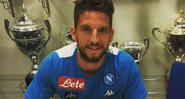 Atacante Dries Mertens - Instagram