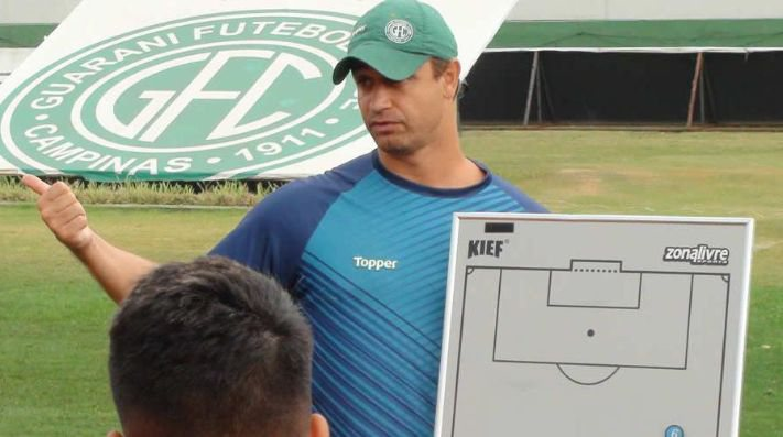 Felipe Conceição, treinador do Guarani