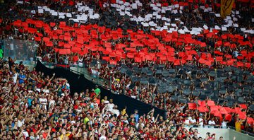 Torcida do Flamengo no Maracanã - GettyImages