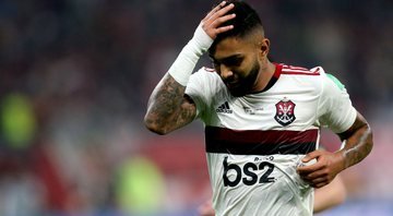 Gabigol, atacante do Flamengo - GettyImages