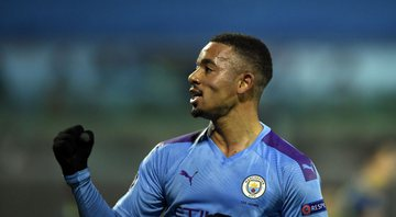 Gabriel Jesus, atacante do Manchester City - GettyImages