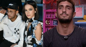 Bruna Marquezine detona surfista do BBB20 - Getty Images/ Transmissão TV Globo