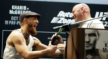 Conor McGregor e Dana White - GettyImages