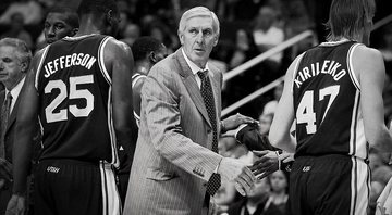 Morre Jerry Sloan, técnico do Utah Jazz - Getty Images
