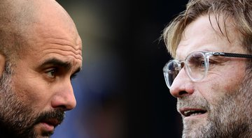 Pep Guardiola e Jurgen Klopp - Getty Images