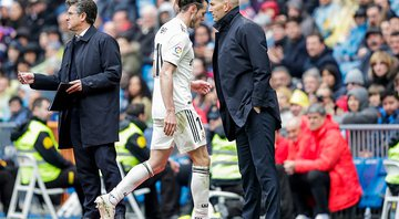 Zidane ameniza clima 'tenso' entre Bale e Real Madrid - GettyImages