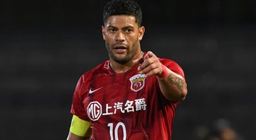 Contrato do atleta com o Shangai SIPG termina no final desse ano - GettyImages