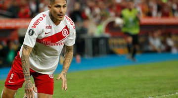Paolo Guerrero pode estar de saída do Internacional - GettyImages