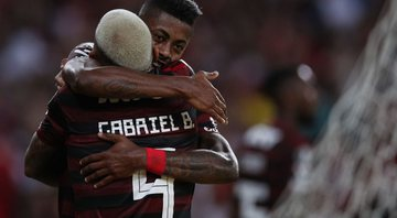 Gabigol e Bruno Henrique (Getty Images)
