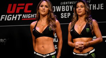 Ring girls permanecem no UFC, afirma Dana White - Getty Images