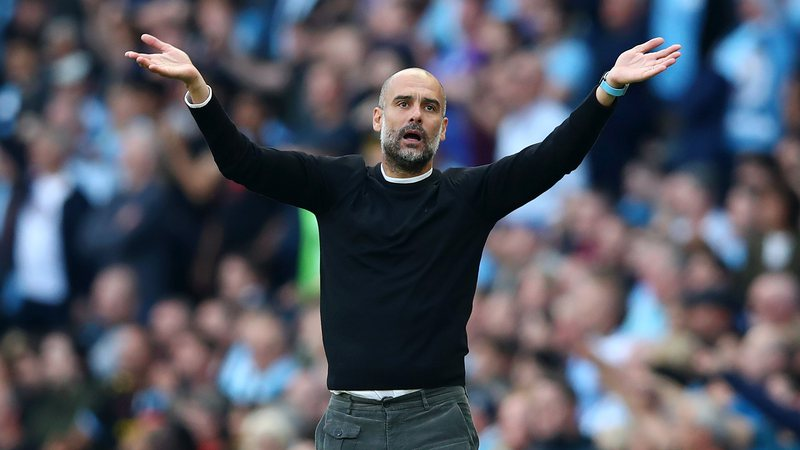 Pep Guardiola é treinador do Manchester City