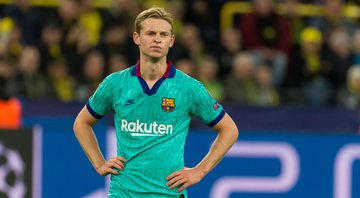 De Jong é meia do Barcelona - GettyImages