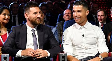 Messi e CR7 - Getty Images