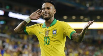Neymar contra Colômbia - Getty Images