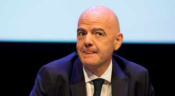 Gianni Infantino é presidente da FIFA desde 2016 - Getty Images