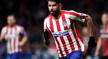 Diego Costa, atacante do Atlético de Madrid - GettyImages