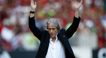 Jorge Jesus, técnico do Flamengo - GettyImages