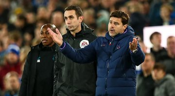 Pochettino no comando do Tottenham - GettyImages