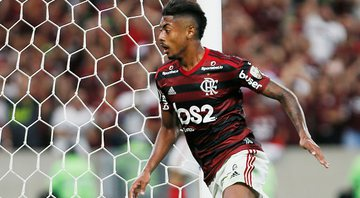 Bruno Henrique abre o placar da goleada Flamenguista - Getty Images