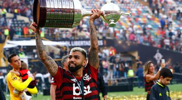 Gabigol inova no visual - GettyImages