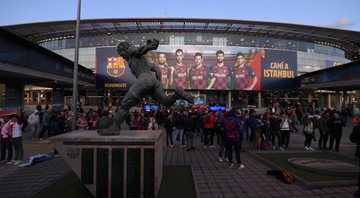 Barcelona negocia naming rights do Campo Nou - Getty Images