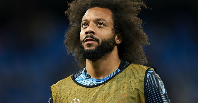 Marcelo, no Real Madrid