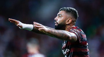 Gabigol se prepara para semifinal do Flamengo no Mundial de Clubes - Getty Images