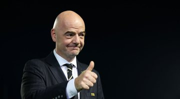 Infantino criticou uso do VAR em entrevista - GettyImages