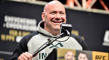 Dana White disponibiliza ilha particular e avião para UFC - Getty Images