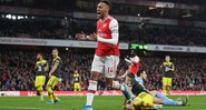 Aubameyang é o vice artilheiro da Premier League, com 17 gols - Getty Images