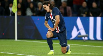 Edinson Cavani, atacante do Paris Saint-Germain - GettyImages