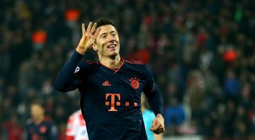 Lewandowski é o segundo maior artilheiro da história do Bayern de Munique - Getty Images