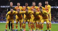Barcelona estreia 4ª camisa - Getty Images