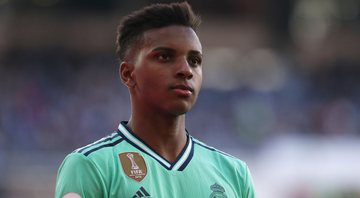 Rodrygo em ação com a camisa do Real Madrid - GettyImages