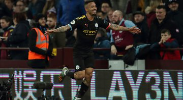 Gabriel Jesus comemorou os anos no Manchester City - GettyImages